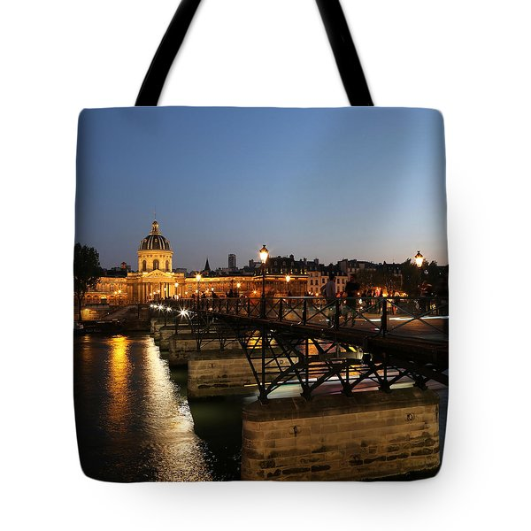 Tote Bag featuring the photograph Institute Of France by Andrew Fare