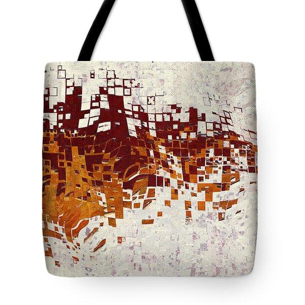 Insync Tote Bag