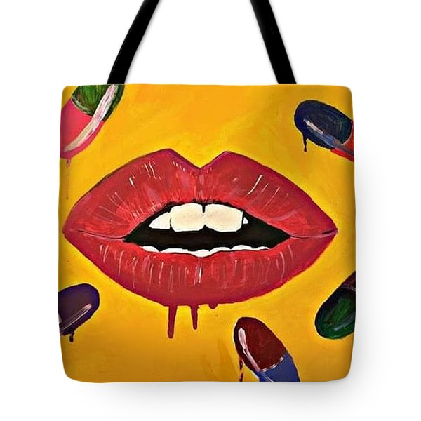 Intake Creativity  Tote Bag by Miriam Moran