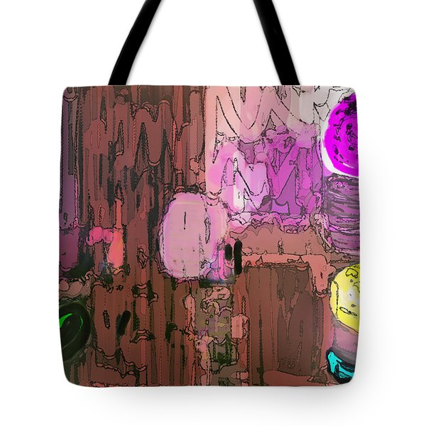Integral Painting Tote Bag