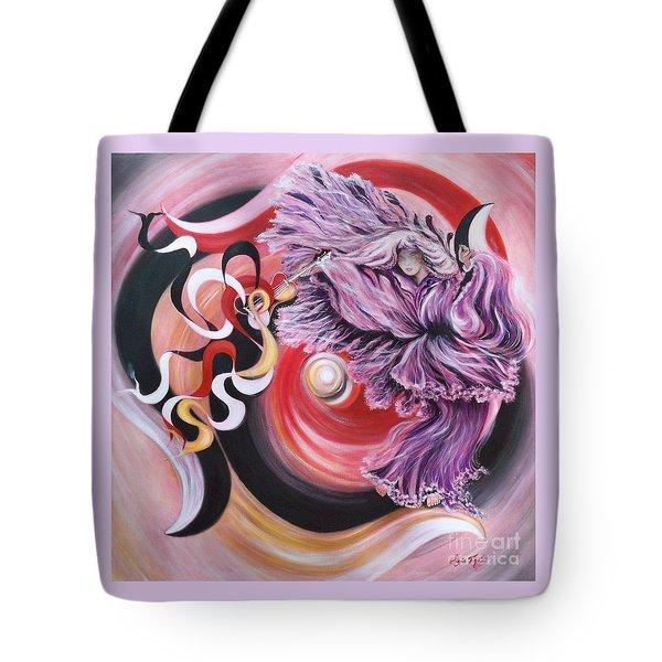 Gentle Spirit  Integrated Force Tote Bag