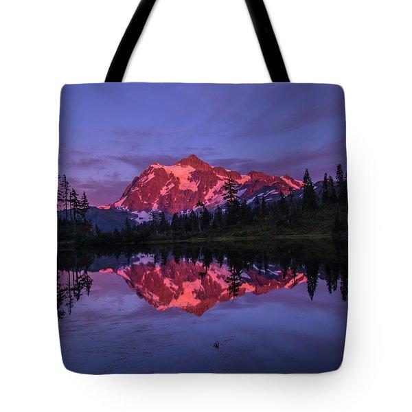 Intense Reflection Tote Bag