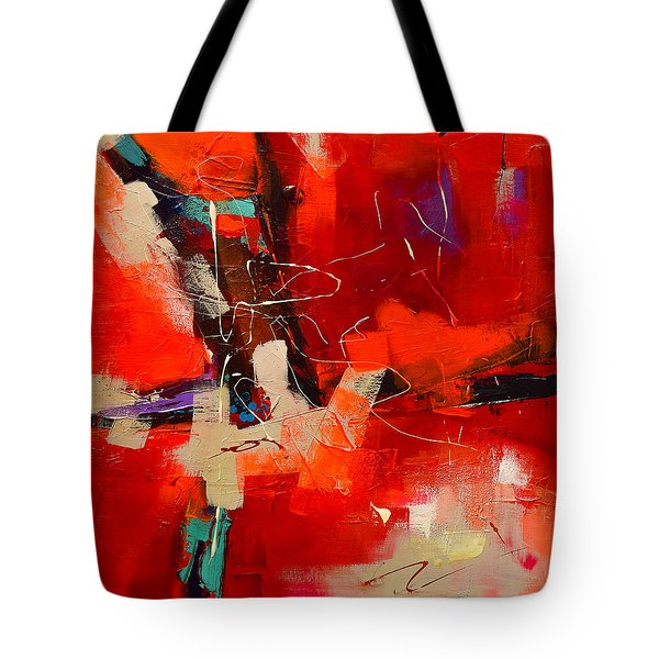 Intensity - Art By Elise Palmigiani Tote Bag by Elise Palmigiani