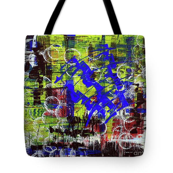 Intensity Tote Bag by Cathy Beharriell