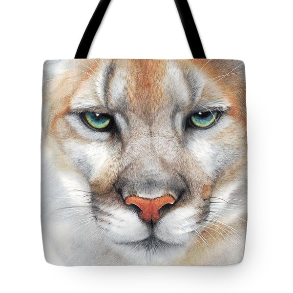 Intensity - Mountain Lion - Puma Tote Bag