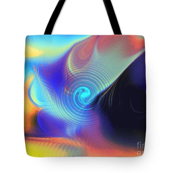 Intensity Vs Energy Tote Bag