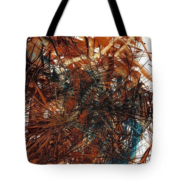 Intensive Abstract Expressionism Series 46.0710 Tote Bag
