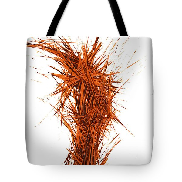 Tote Bag featuring the painting Intensive Abstract Painting 1029.050512 by Kris Haas