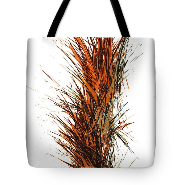 Tote Bag featuring the painting Intensive Abstract Painting 1030.050512 by Kris Haas