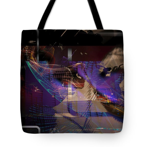 Tote Bag featuring the digital art Intensive Variable by Art Di