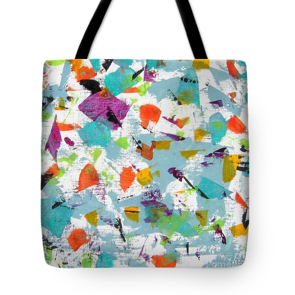 Interaction I Tote Bag