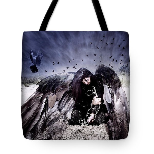 Tote Bag featuring the photograph Intercede by Yvonne Emerson AKA RavenSoul