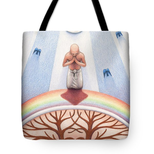 Intercessory Circle Tote Bag by Amy S Turner
