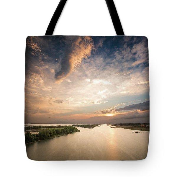 Intercoastal Sky Tote Bag