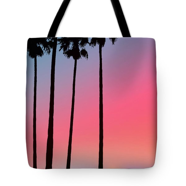 Intercoastal Sunset Tote Bag by Bill Cannon