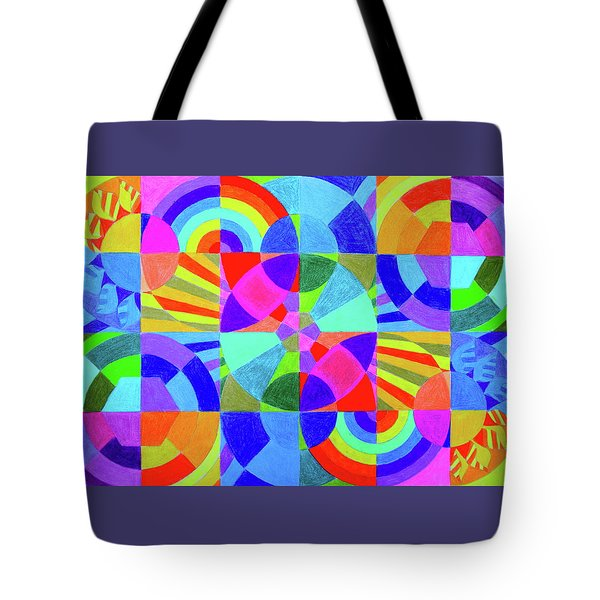 Interconnection Tote Bag
