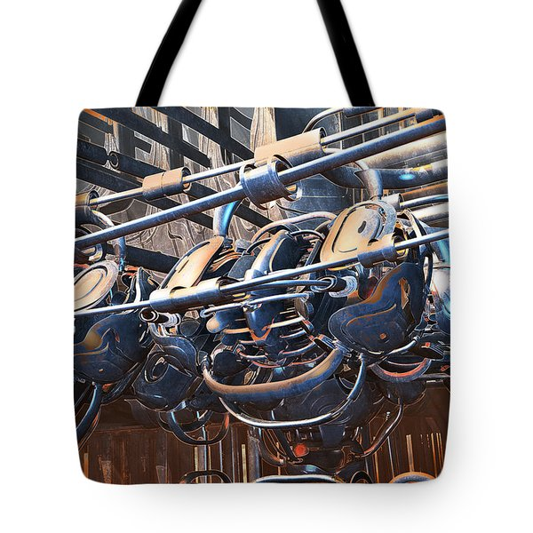 Interdimensional Engine Tote Bag