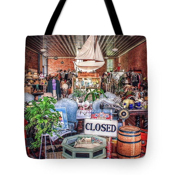 Worldly Things Tote Bag