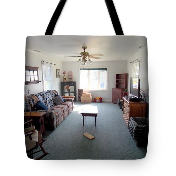 Interior Living Room Tote Bag