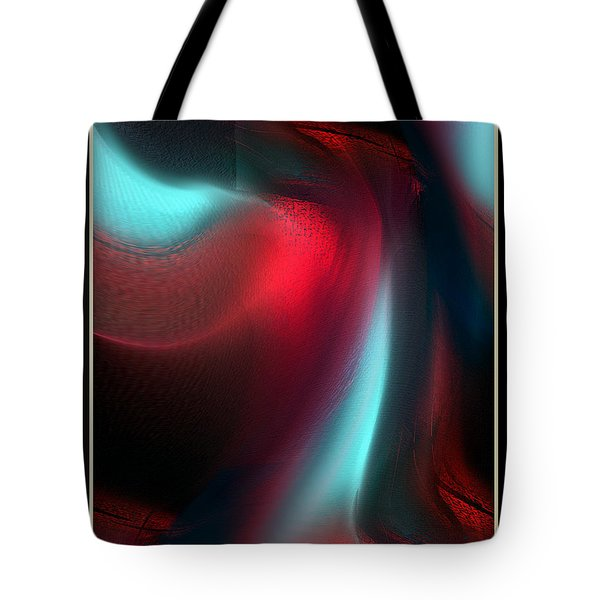 Interior Of Desire In Development Tote Bag by Yul Olaivar