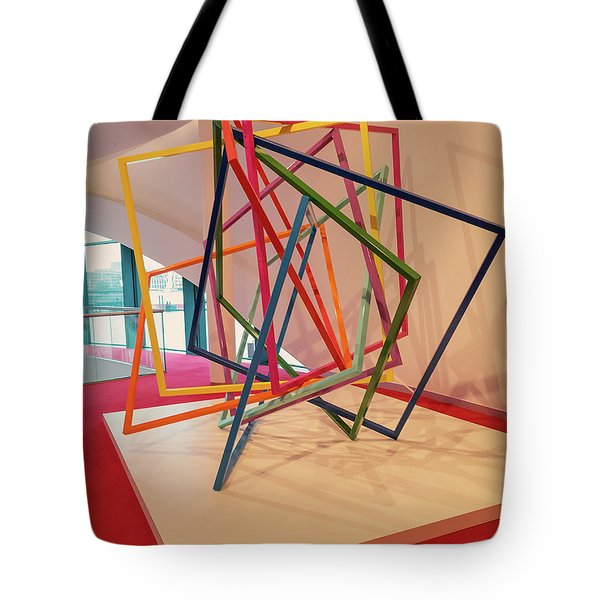Interior Of Musical Theater Hamburg Tote Bag