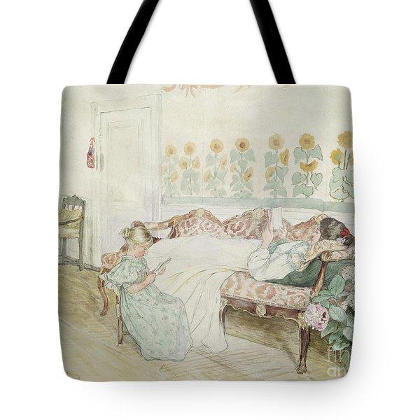 Interior Tote Bag by Peder Severin Kroyer