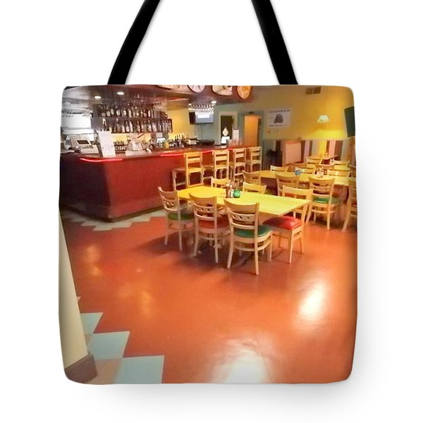 Interior Restaurant Tote Bag