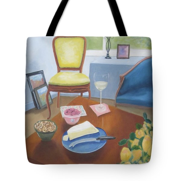Afternoon With Kenny Tote Bag