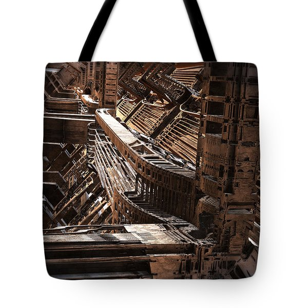 Interior Support Structure Tote Bag