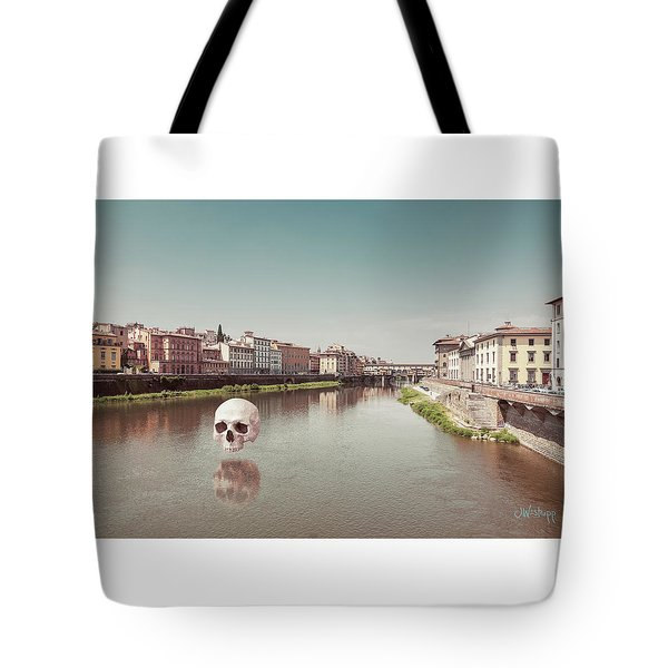 Tote Bag featuring the photograph Interloping, Florence by Joseph Westrupp