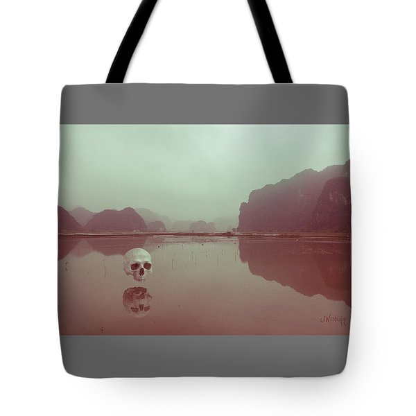 Tote Bag featuring the photograph Interloping, Vietnam by Joseph Westrupp