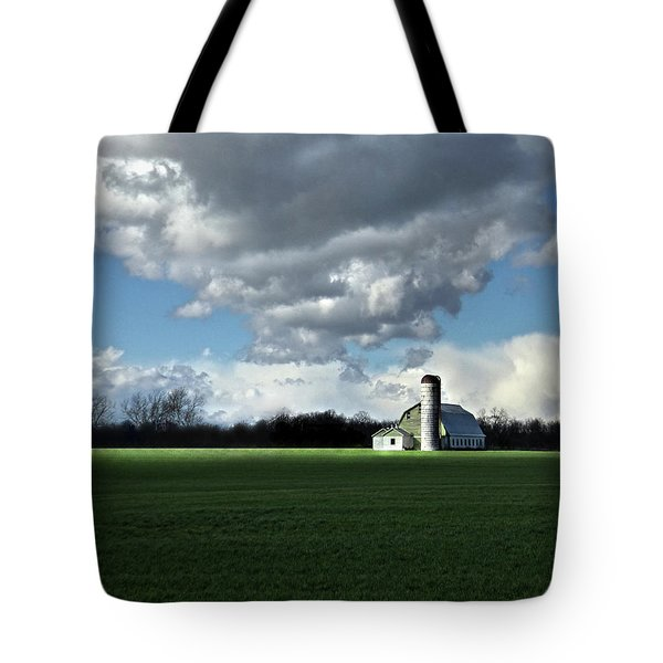 Tote Bag featuring the photograph Interlude by Robert Geary