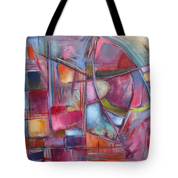 Internal Dynamics # 8 Tote Bag