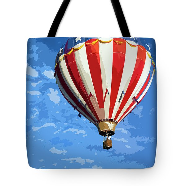 International Balloon Fiesta Tote Bag