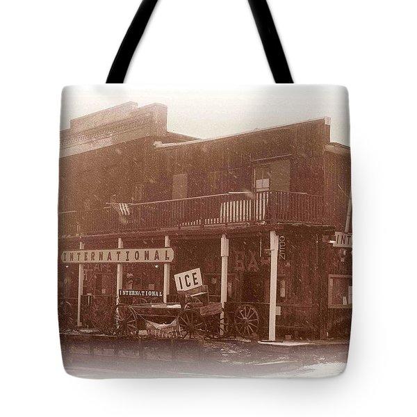 International Cafe Tote Bag