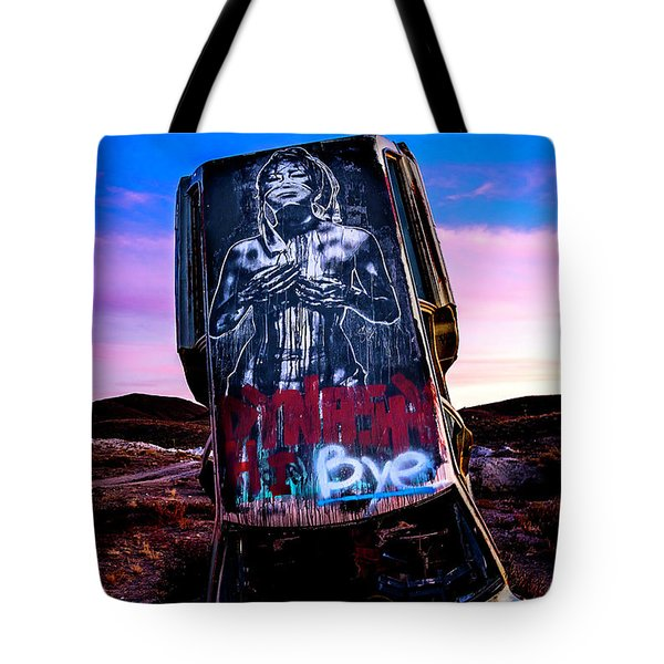 International Car Forest Of The Last Church 4 Tote Bag