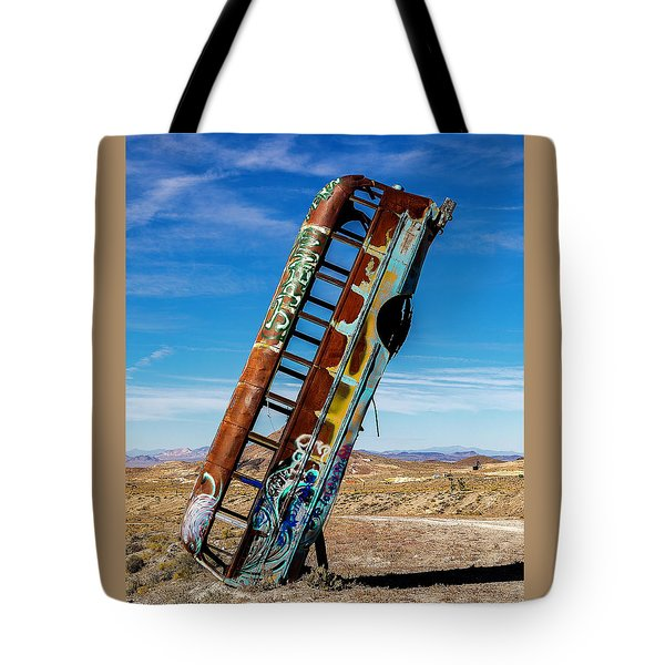 Tote Bag featuring the photograph International Car Forest Of The Last Church by James Sage