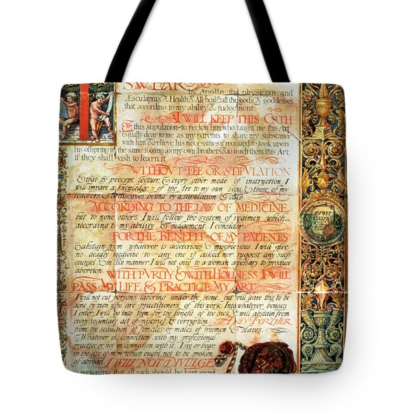 International Code Of Medical Ethics Tote Bag