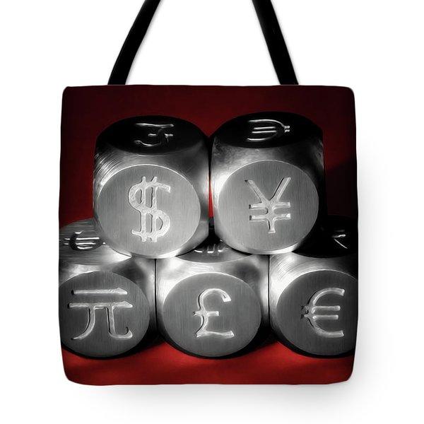 International Currency Symbols II Tote Bag