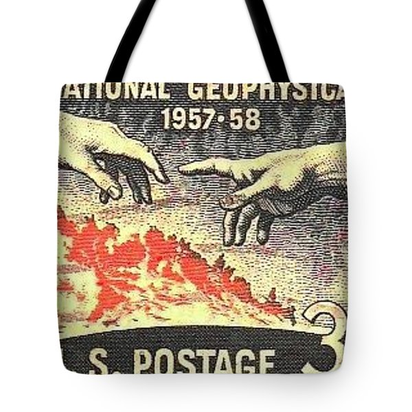 International Geophysical Year Stamp Tote Bag