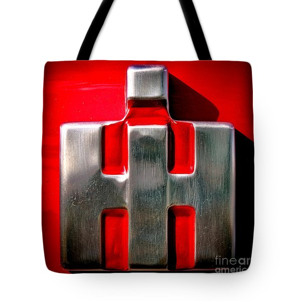 International Harvester Logo Nameplate Tote Bag