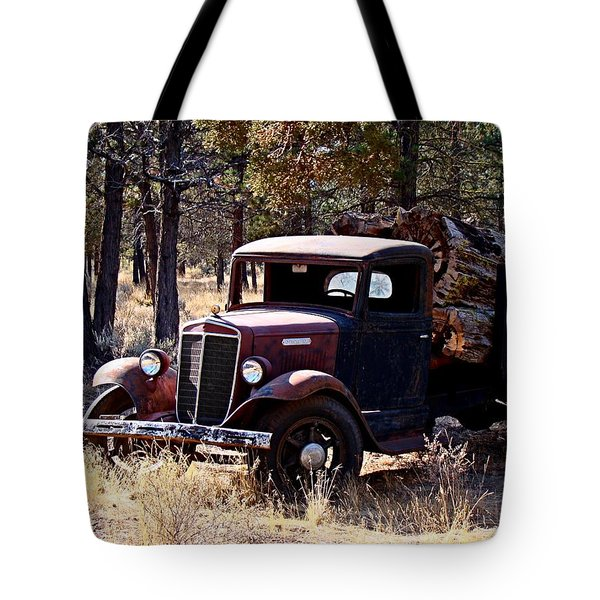 International Log Truck Tote Bag