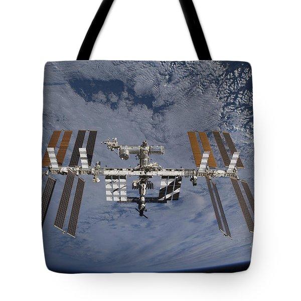 International Space Station Set Tote Bag