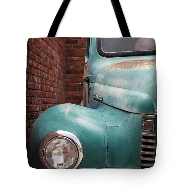 Tote Bag featuring the photograph International Truck 1 by Heidi Hermes
