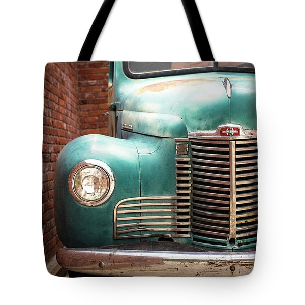 Tote Bag featuring the photograph International Truck 2 by Heidi Hermes