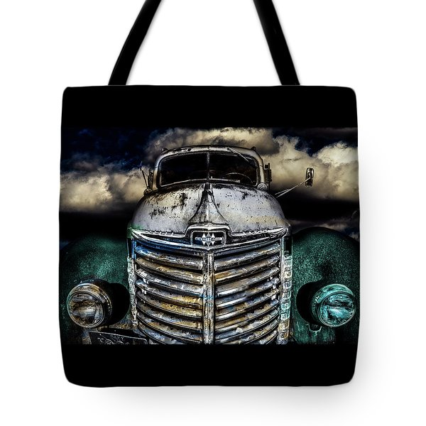 Tote Bag featuring the photograph International Truck 6 by Michael Arend