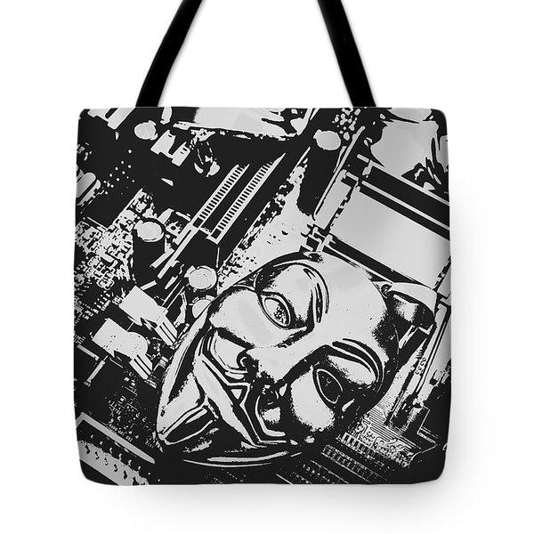 Internet Hactivist Tote Bag