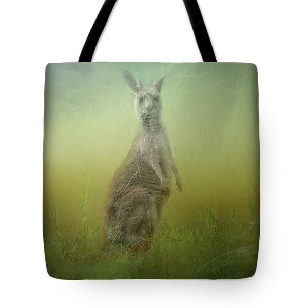 Interrupted Meal Tote Bag by Wallaroo Images