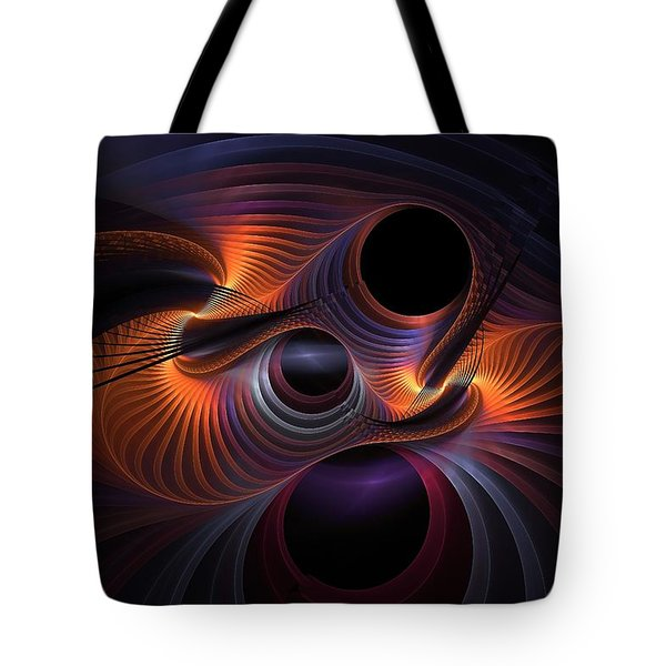 Interrupted Rainbow Tote Bag
