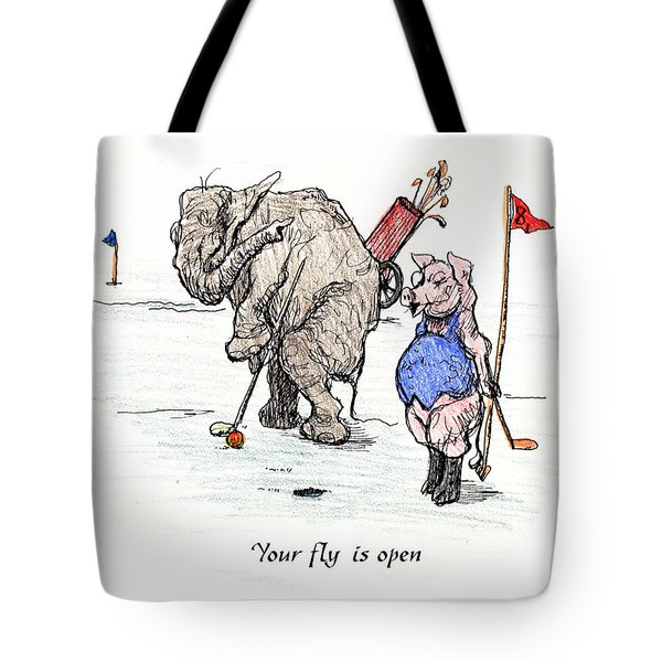 Interrupting Concentration Tote Bag